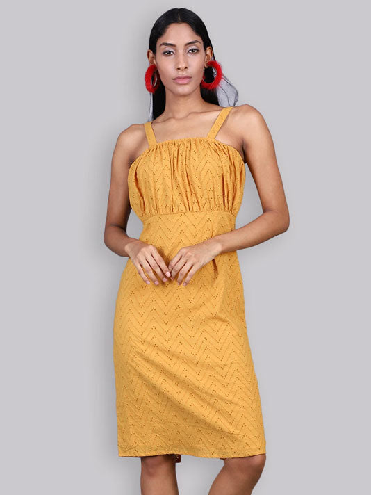 Yellow Shifley Dress