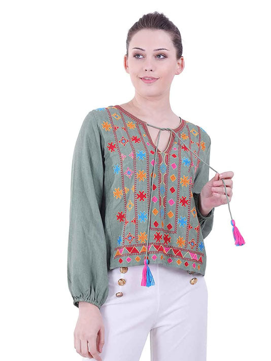 Chromatic Blouse