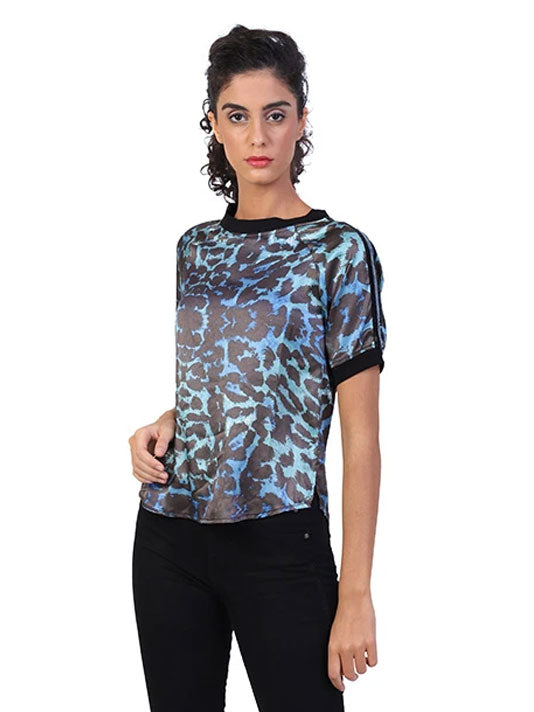 Wild Cat Satin T-Shirt