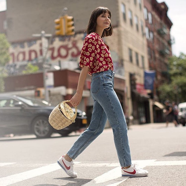 Learn From The Pros How to Style Denim - Alyssa Coscarelli (@alyssainthecity)