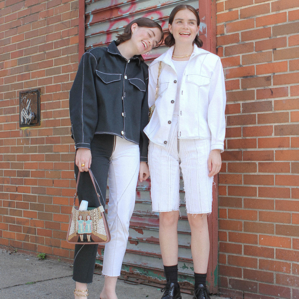 Creating Custom NYFW Designs With Reese and Molly Blutstein (@double3xposure and @accidentalinfluencer)
