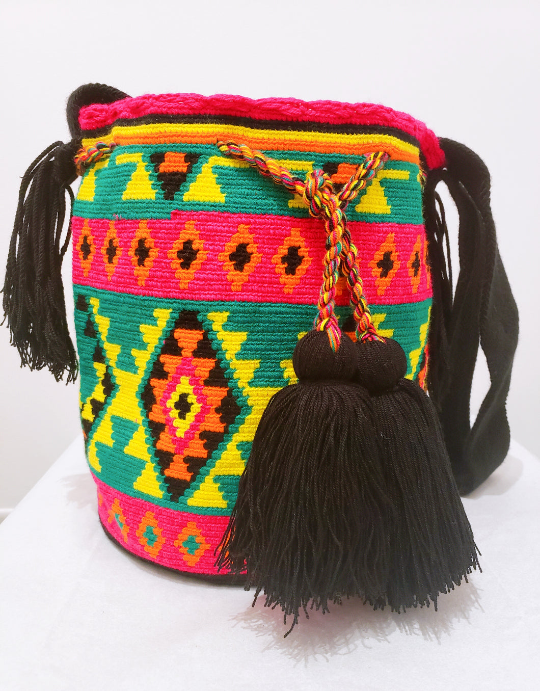 Tradition Handmade Wayuu Mochila Bag - Wuitusu