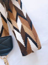 Brown Wayuu Handmade Bag Strap - Wuitusu
