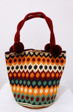 Luisa Large  Handmade Wayuu Mochila Bag with Short Handles - Wuitusu