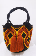Aurora Handmade Large Wayuu Mochila Bag with Short Straps - Wuitusu
