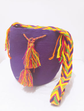 Amelia Handmade Medium Wayuu Bag - Wuitusu