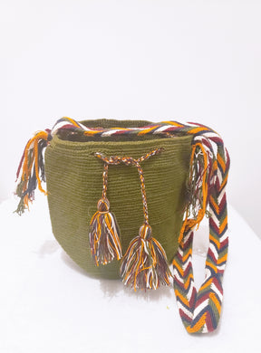 Evelyn Handmade Medium Wayuu Bag - Wuitusu