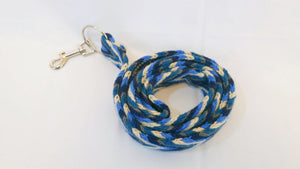 Blue Handmade Wayuu Pet Leash - Wuitusu