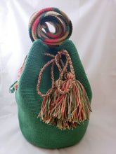 Light Green Handmade Wayuu Bag - Wuitusu