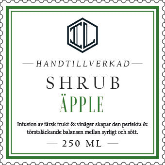 Infused Liquid Shrubs - Infused Liquid AB