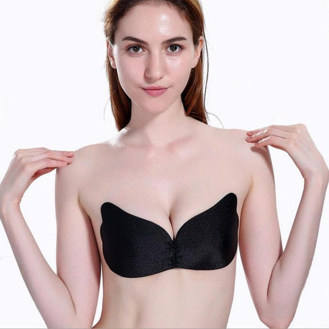 Women Wings Of The Goddess Instant Breast Lift Invisible Silicone Push Up Bra