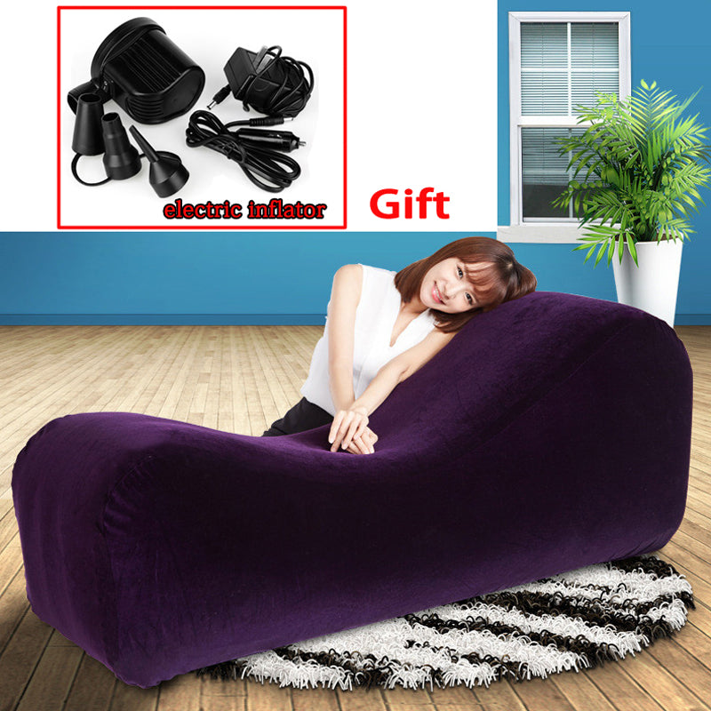 Limited Sale Inflatable Chair Sofa Bed Furniture Position Love Chair Furnishing Fabrics Cushion Luxury Sofa Sex Toys For Couples