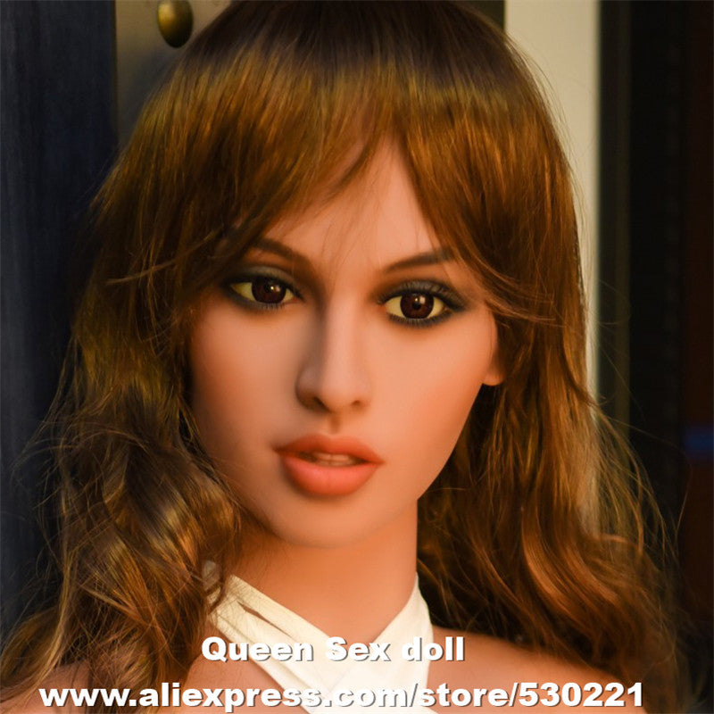 NEW WMDOLL Top Quality Real Doll Heads For Silicone Sex Dolls TPE Japanese Love Doll Head With Tooth Oral Sexy Toys