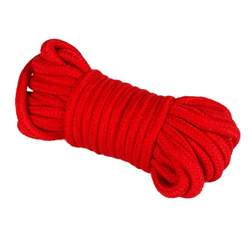 Restraint Rope 10M Soft Cotton Bandage Rope Couples Flirting Toys Restraint Rope for Adult Game