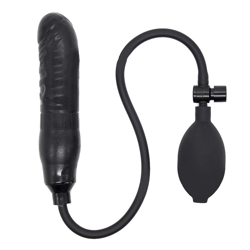 Female's Sex Products Unisex Toys Inflatable Anal Plug Butt Plug Blow Up Anal Plug Anus