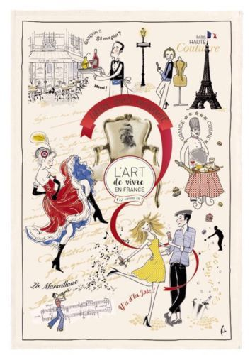 Art de Vivre Kitchen/Tea/Bar Towel From France