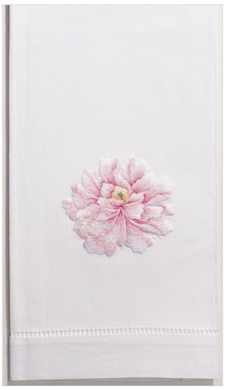 Peony 100% Cotton Guest Hand Towel
