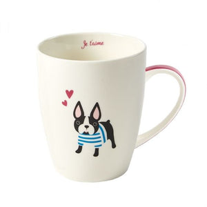 """Frenchie"" French Bulldog Dog Mug"