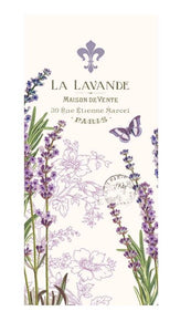 "100% Cotton Kitchen/Bar Lavender Towel 18"" x 26"" ""La Lavande"""