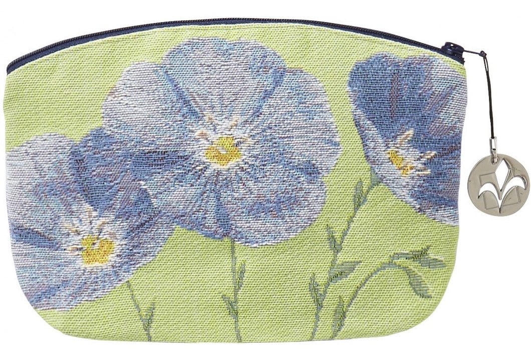 Flax Flowers Purse