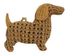 Load image into Gallery viewer, Serpui Wicker Dog Purse