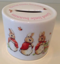 Load image into Gallery viewer, Wedgwood Girls Rabbit Bank/Money Box