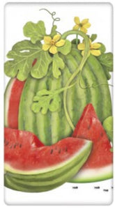 Flour Sack Kitchen Dish Towel Watermelon on Vine Mary Lake - Thompson