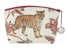 Load image into Gallery viewer, Floral Indian Tiger Purse