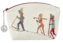 Load image into Gallery viewer, Holidays in the Mountains Skiing Purse