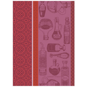 Garnier-Thiebaut French Country Kitchen Dish Towel Vinaigre Balsamique Rouge