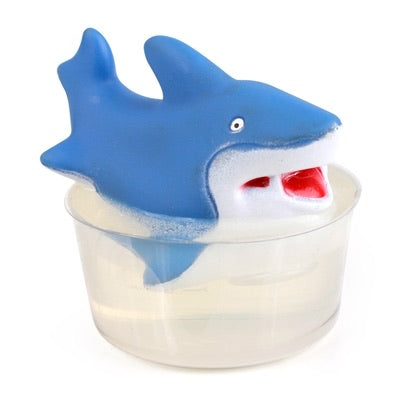 Fun Bath Pals Single Soap with Shark Toy