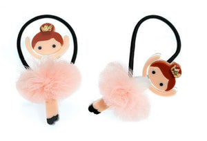 Ballet Tutu Girls Ponytail Set New