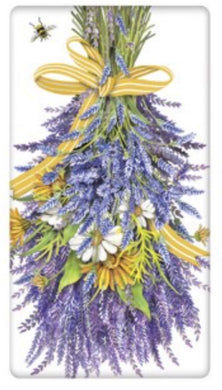 Flour Sack Kitchen Dish Towel Hanging Lavender Mary Lake - Thompson