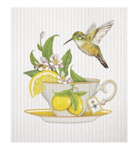 Mary Lake - Thompson Teacup Lemons Sponge Cloth