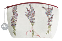 Load image into Gallery viewer, Lavender Perfume Tapestry Purse/Jewelry Bag/Cosmetic Bag