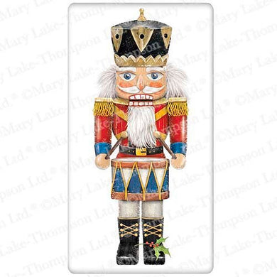 Flour Sack Kitchen Dish Towel Nutcracker Classic Mary Lake - Thompson New