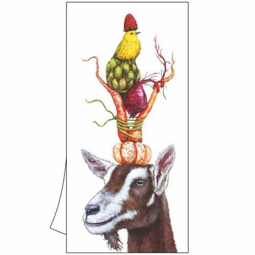 100% Cotton Kitchen/Bar Goat Towel