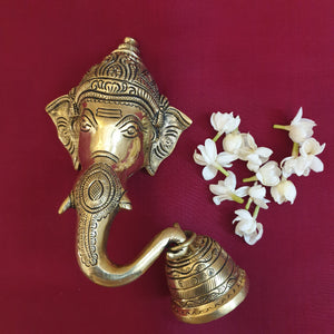 Ganesha Trunk Bell (Left)