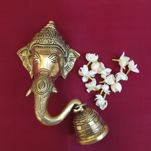 Load image into Gallery viewer, Ganesha Trunk Bell (Left)