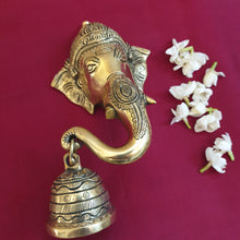 Load image into Gallery viewer, Ganesha Trunk Bell (Right)