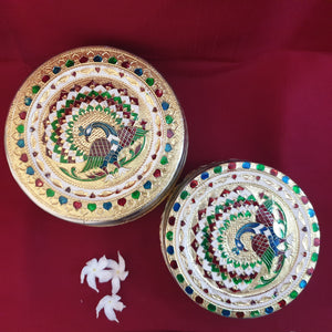 Circular dabba set (2 in 1)