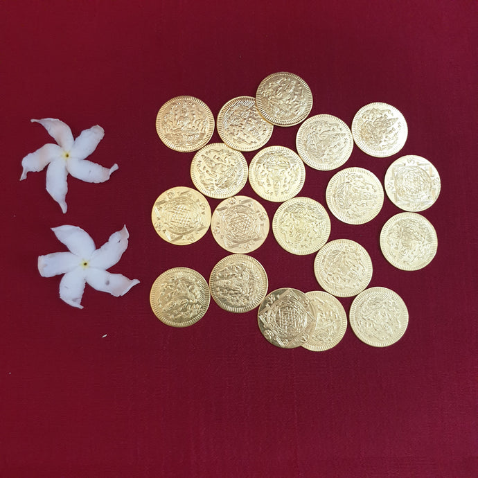 Lakshmi Coins (Pack of 20)