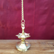 Load image into Gallery viewer, Tanjore style lamp with 7 face