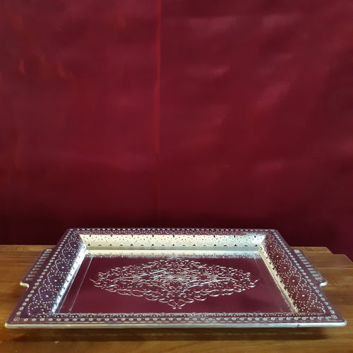 Rectangular plate with handle..big