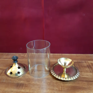Brass lamp holder..(small)