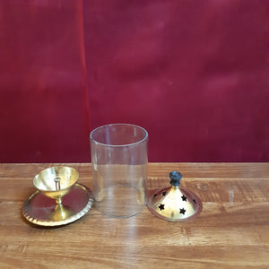 Brass lamp holder..(big)