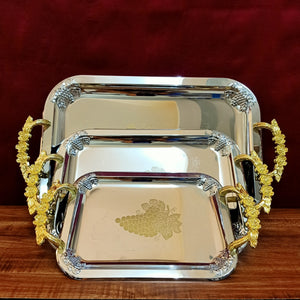 set of 3 trays