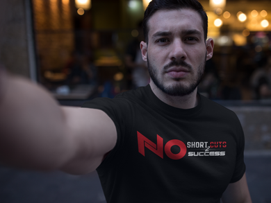 No Shortcuts to Success (Men Tee)
