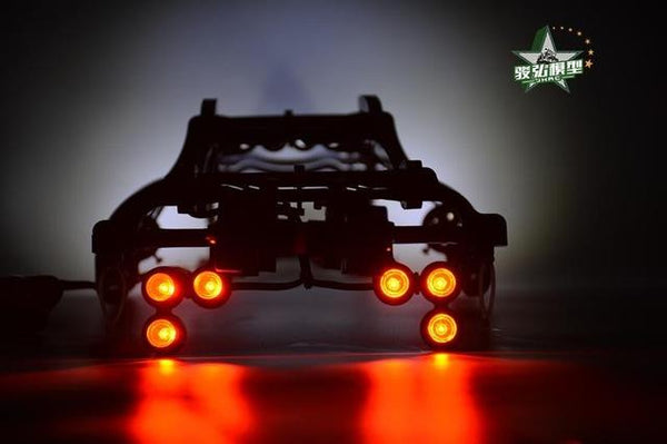 (1:10) TRAXXAS E-REVO Roll cage+Wheelie bar+LED light+Lamp holder RC Cars HPI Racing