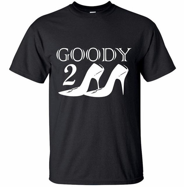 Design Tops Short Sleeve Men Goody 2 Shoes Funny Unisex Tshirt With Fun Slogan T-Shirt Humer Sayings Regular Crew Neck Tee Shirt